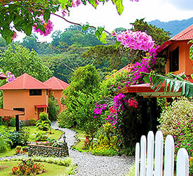 Logeren bij Boquete Garden Inn maken uw verblijf een magische
